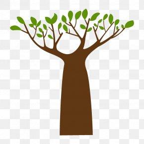 Hand Plant Stem - Tree Branch Leaf Clip Art Plant PNG