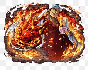 One Piece - Akainu One Piece Treasure Cruise Shanks Monkey D. Garp Kuzan PNG