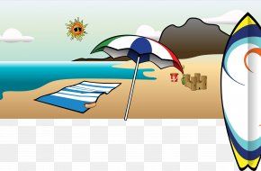 Summer - Clip Art For Summer Location Desktop Wallpaper Clip Art PNG