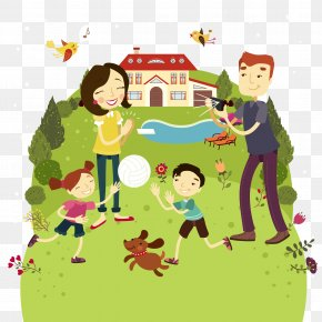Family - Family Outdoor Recreation Clip Art PNG