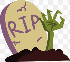 The Tombstone In Ghost - Headstone PNG