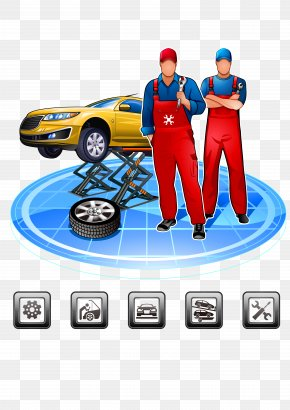 Car Repair - Car Maintenance, Repair And Operations Automobile Repair Shop Mechanic PNG