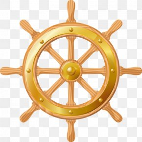 Steering Wheel - Ship's Wheel Anchor Clip Art PNG