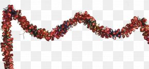 Streamers - Tinsel New Year Christmas Clip Art PNG