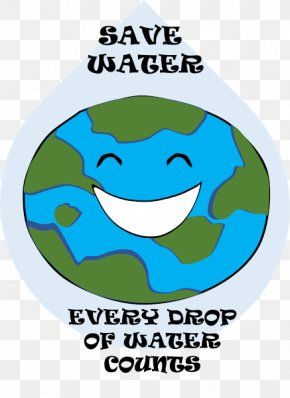 Water - Water Conservation Water Efficiency Poster PNG