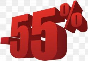 55% Off Sale Transparent Image - Sales Clothing Handbag Shopping PNG