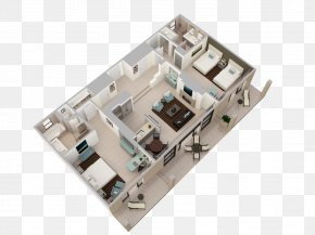 Villa View - 3D Floor Plan Arizona Biltmore, A Waldorf Astoria Resort House Plan PNG