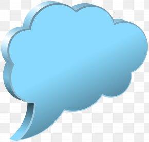 Speech Bubble Cloud Transparent Image - Speech Balloon Clip Art PNG