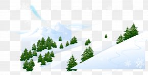 Posters Snowy Winter Background Material - Snow Winter Photography Clip Art PNG