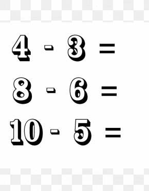 Warner - Drawing Subtraction Addition Number Mathematics PNG