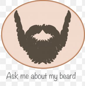 No Shave Movember Day Mustache Pic - Birthday Cake Wish Greeting Card PNG