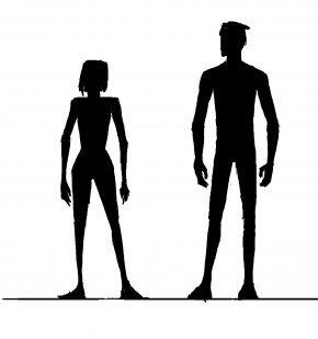 Female Shape Cliparts - Female Body Shape Silhouette Human Body Clip Art PNG