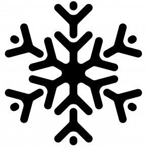Snowflake Silhouette Cliparts - Code Blue Saratoga Saratoga Springs Snowflake Location PNG