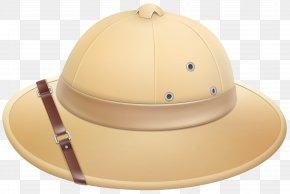 Pith Helmet Clip Art Image - Hat Sombrero Clip Art PNG