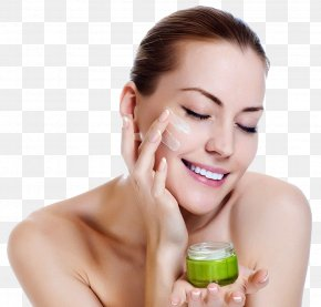 With Beauty Skin Care Products - Natural Skin Care Anti-aging Cream Moisturizer PNG