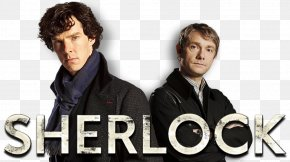Sherlock - Sherlock Holmes Doctor Watson Television Show Poster PNG