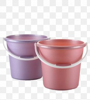 Two Buckets - Bucket Plastic Towel Clothes Hanger PNG