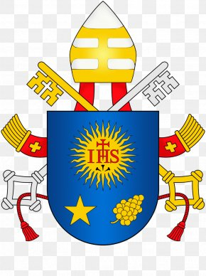 Ihs - Vatican City Coat Of Arms Of Pope Francis Christogram Society Of Jesus PNG