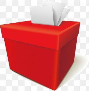 Red Ballot Box - Ballot Box Voting PNG