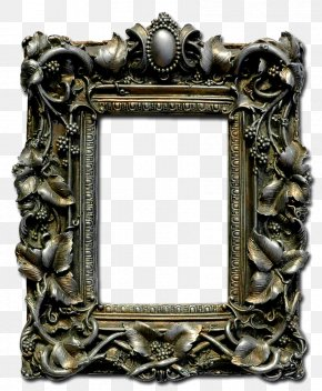 Goth - Picture Frames Baroque Photography Art PNG