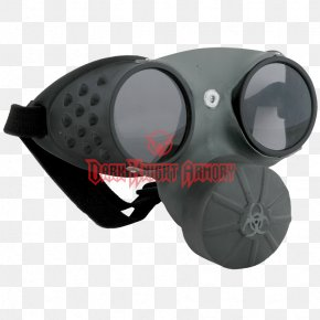 Gas Mask - Gas Mask Goggles Glasses Respirator PNG