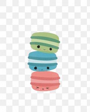 Cartoon Donut - Macaron Macaroon Cupcake Food Cookie PNG