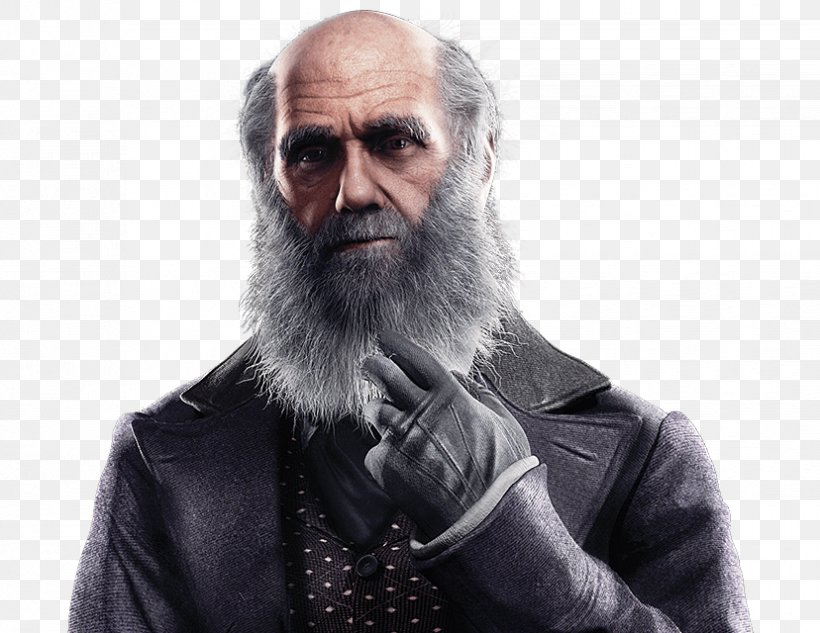 Charles Darwin Assassin's Creed Syndicate PlayStation 4 On The Origin Of Species Evolution, PNG, 828x640px, Charles Darwin, Alexander Graham Bell, Assassin S Creed, Assassin S Creed Syndicate, Beard Download Free