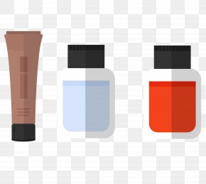 Makeup Oil - Essential Oil Cartoon Icon PNG