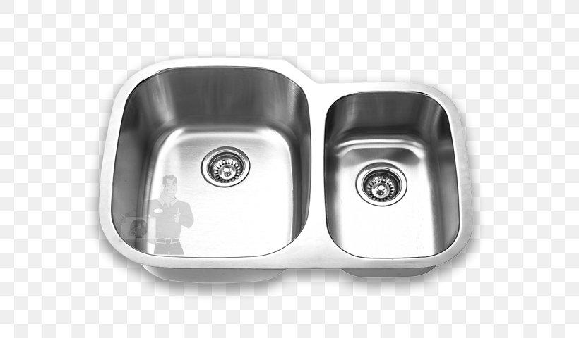 Kitchen Sink Stainless Steel Bowl Sink Countertop, PNG, 600x480px, Sink, Bathroom, Bathroom Sink, Bowl, Bowl Sink Download Free