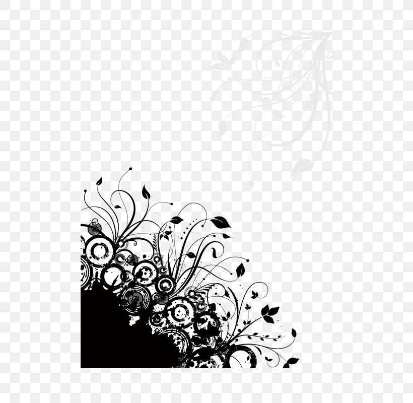 Circle Vines Trend Borders Decorative Patterns, PNG, 500x800px, Royalty Free, Black, Black And White, Branch, Depositphotos Download Free