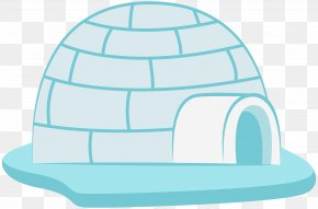 Icehouse Transparent Clip Art Image - Igloo Illustration PNG