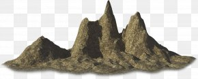 Mountain - Wood Rock PNG