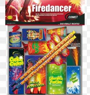 FIRE DANCE - COMET Feuerwerk GmbH Firecracker Toy Light Fireworks PNG