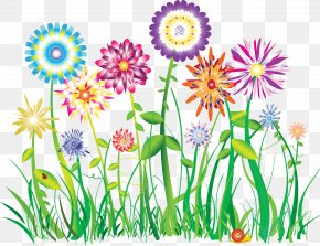 Pastel Flowers - Flower Graphic Design Clip Art PNG