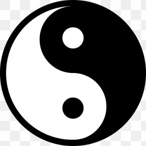 Symbol - Yin And Yang Symbol The Book Of Balance And Harmony Taoism PNG
