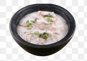 Stone Fish Broth - Congee Fish Soup Food PNG