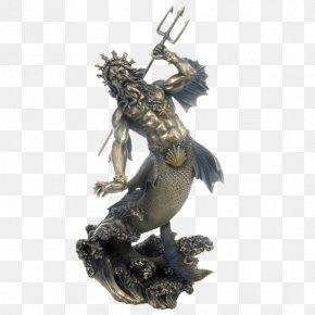Greek Terracotta Figurines - Poseidon Of Melos Hades King Neptune PNG
