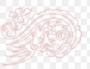 Red Phoenix - Visual Arts Pink Petal Pattern PNG