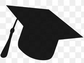 Cone Blackandwhite - Background Graduation PNG