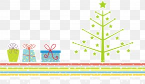 Christmas Gift And Christmas Tree - Christmas Tree Public Holiday Gift PNG