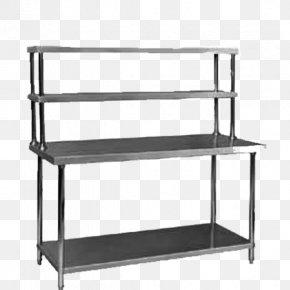Kitchen Shelf - Table Shelf Stainless Steel Sink Kitchen PNG
