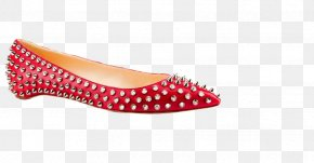 Steel Teeth Shoes - Ballet Flat Shoe Clothing Designer Leather PNG