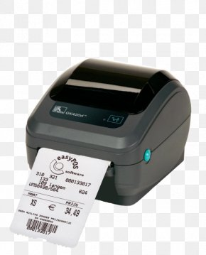Barcode Printer - Label Printer Barcode Printer Zebra Technologies PNG