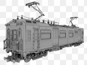 Train - Train Rapid Transit Passenger Car Rail Transport Locomotive PNG