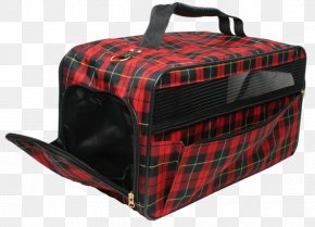 Pet Travel - Oh My DOG Pet Carrier Tartan Hand Luggage PNG