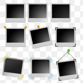 Various Frame Models - Picture Frame Template PNG