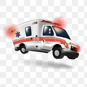 Ambulance - Ambulance Cartoon Emergency Medical Technician Paramedic PNG