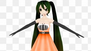 Hatsune Miku - Hatsune Miku DeviantArt Character Shader Motion Blur PNG