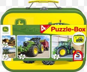 John Deere Toy Bin - Jigsaw Puzzles John Deere Puzzle Box Toys/Spielzeug Schmidt Spiele Game PNG