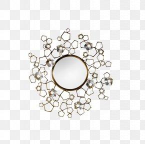 Small Round Mirror - Mirror Thomas Pheasant Inc Interior Design Services Furniture PNG